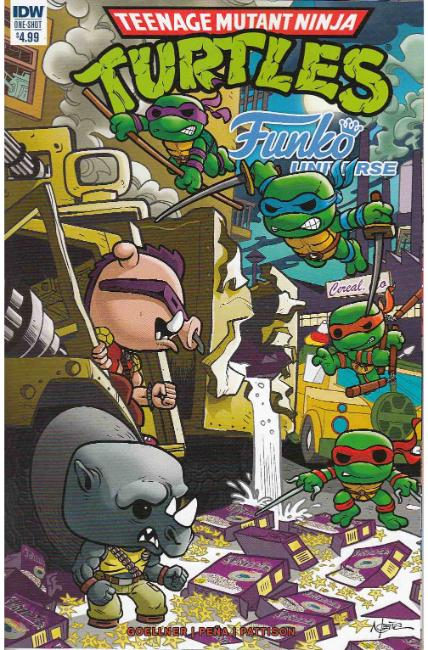 Teenage Mutant Ninja Turtles Funko Universe (One Shot) [IDW Comic]
