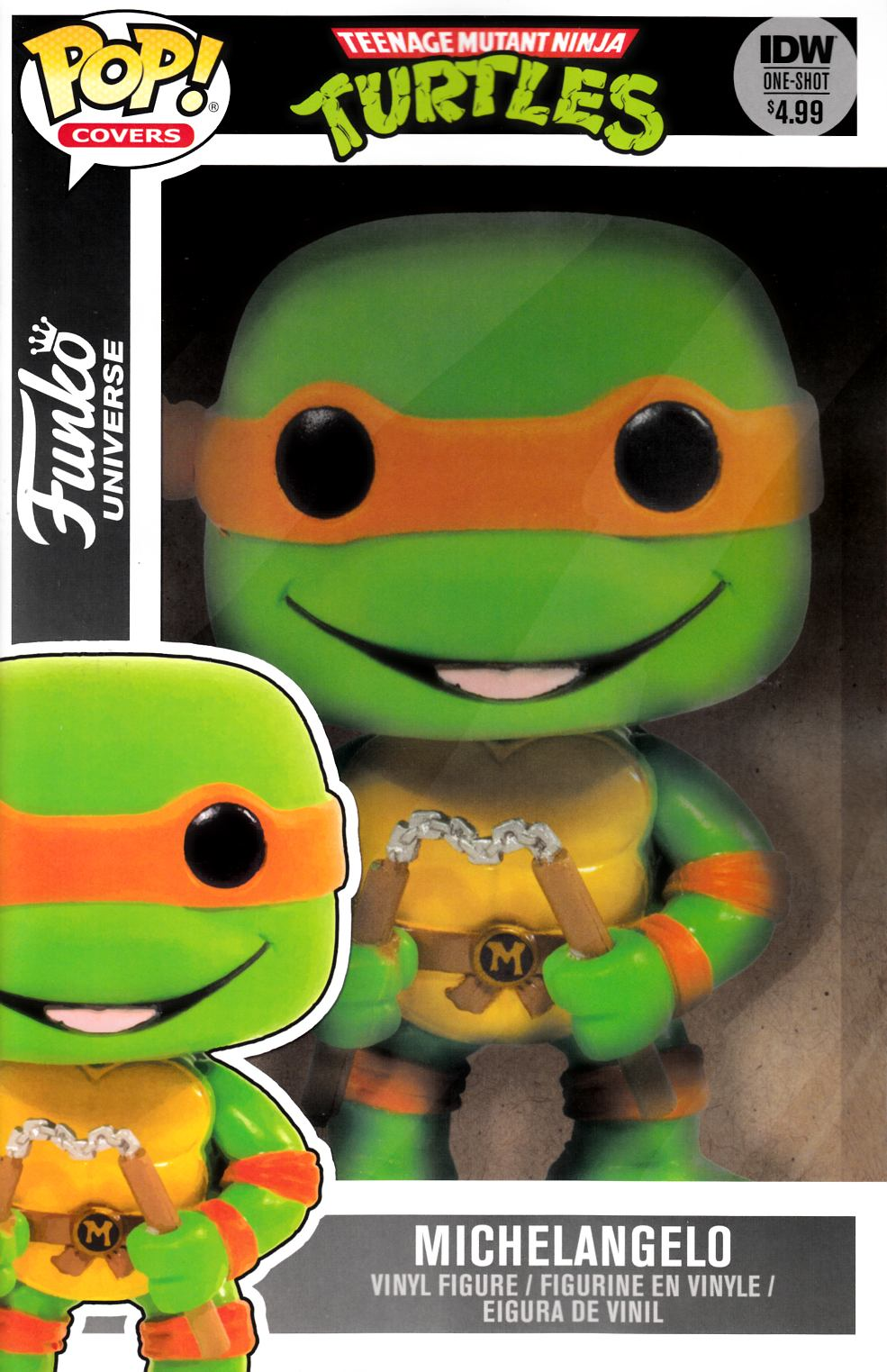 Teenage Mutant Ninja Turtles Funko Universe Funko (One Shot) Toy Cover [IDW Comic]