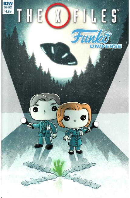 X-Files Funko Universe (One Shot) [IDW Comic] THUMBNAIL