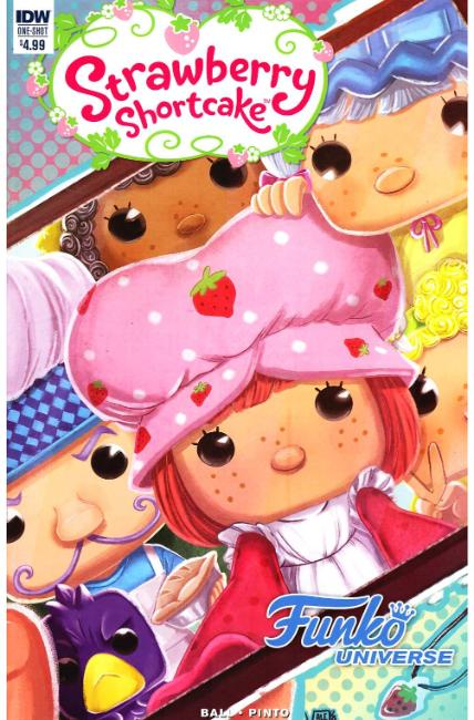 Strawberry Shortcake Funko Universe (One Shot) [IDW Comic]