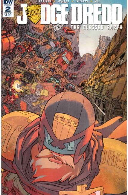 Judge Dredd Blessed Earth #2 [IDW Comic]