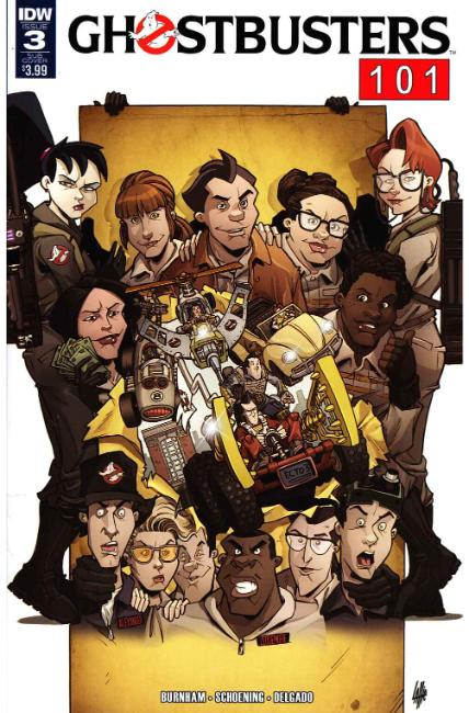 Ghostbusters 101 #3 Subscription Cover [IDW Comic] THUMBNAIL