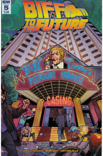 Back to the Future Biff to the Future #5 [IDW Comic]