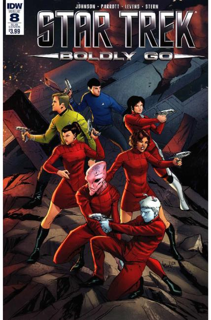 Star Trek Boldly Go #8 Subscription Cover [IDW Comic] THUMBNAIL