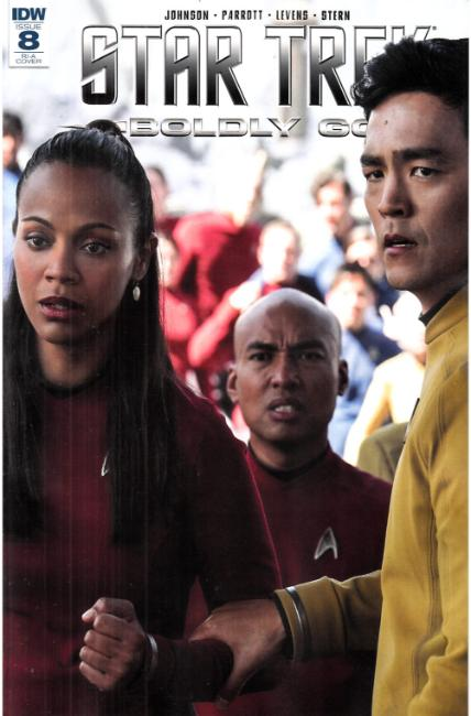 Star Trek Boldly Go #8 Cover RIA [IDW Comic] LARGE