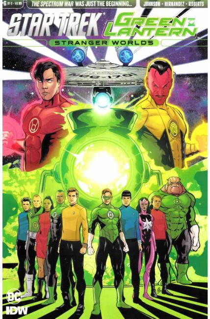 Star Trek Green Lantern Vol 2 #6 [IDW Comic] LARGE