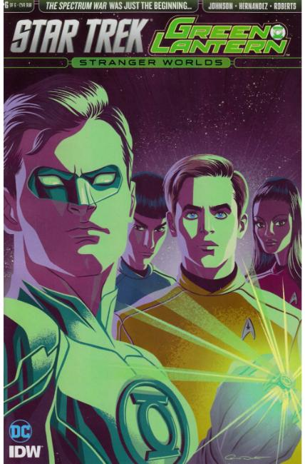 Star Trek Green Lantern Vol 2 #6 Subscription Cover [IDW Comic] THUMBNAIL
