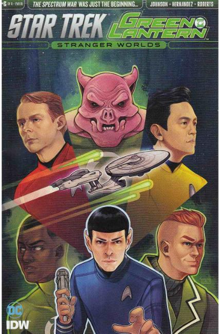 Star Trek Green Lantern Vol 2 #6 Cover RI [IDW Comic] LARGE