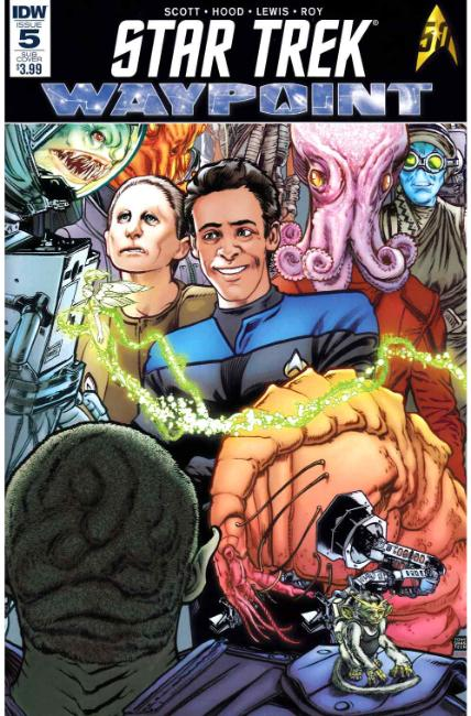 Star Trek Waypoint #5 Subscription Cover [IDW Comic] LARGE