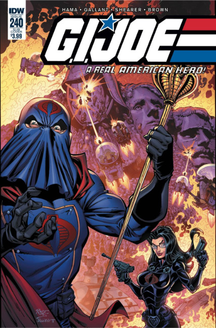 GI Joe a Real American Hero #240 Subscription Cover [IDW Comic]_LARGE
