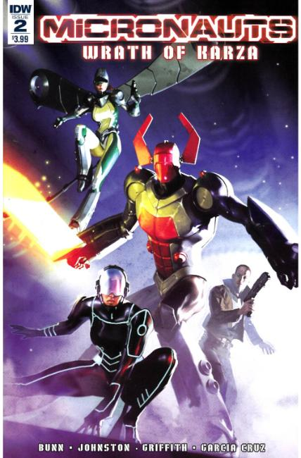 Micronauts Wrath of Karza #2 [IDW Comic]