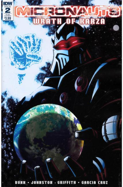 Micronauts Wrath of Karza #2 Subscription Cover [IDW Comic]