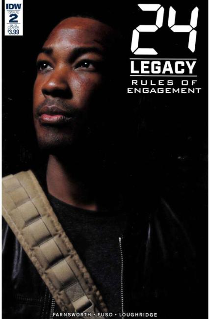 24 Legacy Rules of Engagement #2 Subscription Cover [IDW Comic] THUMBNAIL
