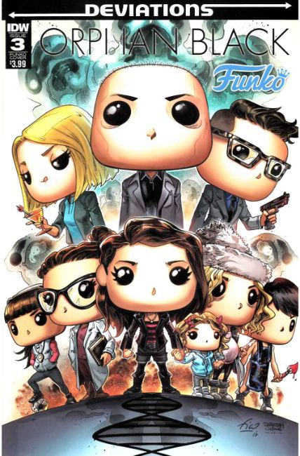 Orphan Black Deviations #3 Funko Toy Cover [IDW Comic]