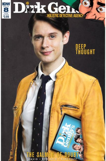 Dirk Gently Salmon of Doubt #8 Subscription Cover [IDW Comic] THUMBNAIL