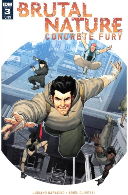 Brutal Nature Concrete Fury #3 [IDW Comic] THUMBNAIL