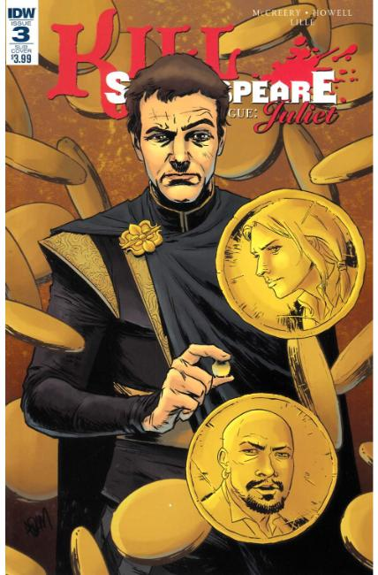 Kill Shakespeare Past Is Prologue Juliet #3 Subscription Cover [IDW Comic] THUMBNAIL