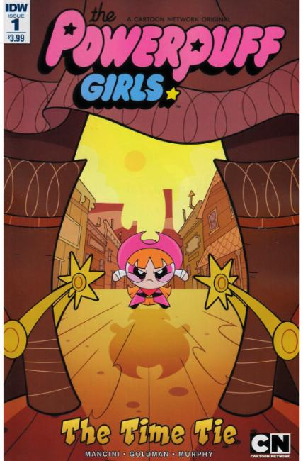 Powerpuff Girls Time Tie #1 [IDW Comic] THUMBNAIL