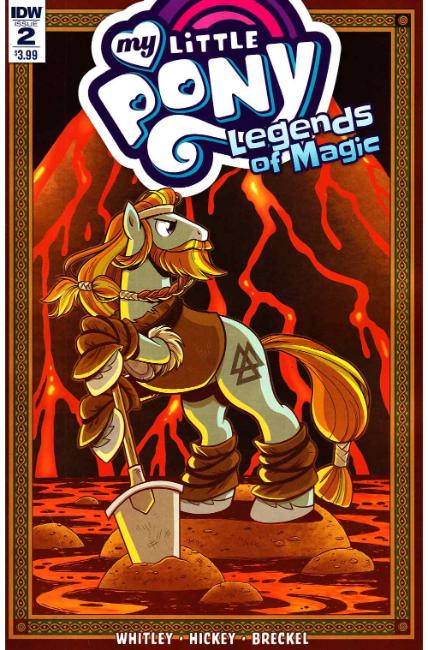 My Little Pony Legends of Magic #2 [IDW Comic]