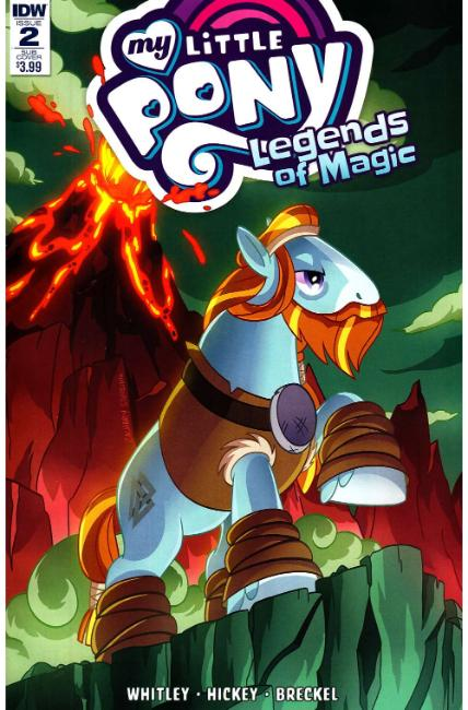 My Little Pony Legends of Magic #2 Subscription Cover [IDW Comic] THUMBNAIL