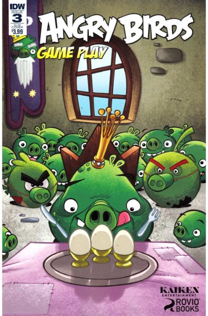 Angry Birds Comics Game Play #3 Subscription Cover [IDW Comic] THUMBNAIL