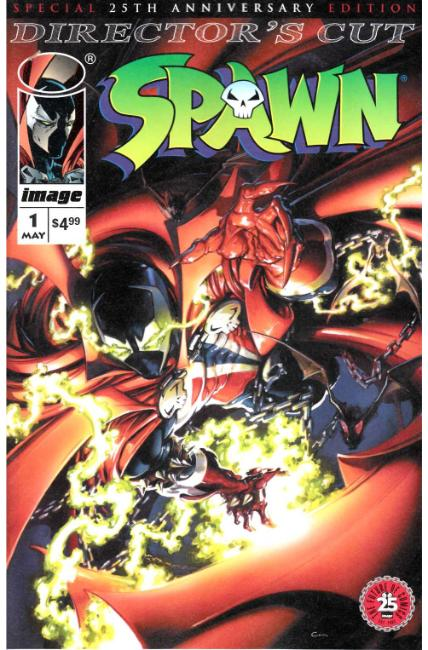 Spawn #1 25th Anniversary Directors Cut Cover B- Crain [Image Comic]_THUMBNAIL