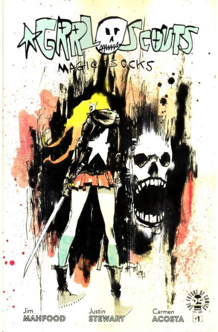 Grrl Scouts Magic Socks #1 Cover A- Mahfood [Image Comic]_THUMBNAIL