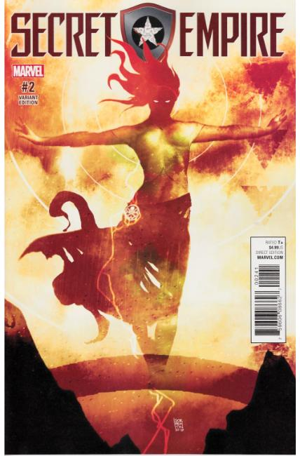Secret Empire #2 Sorrentino Hydra Heroes Variant Cover [Marvel Comic]_THUMBNAIL