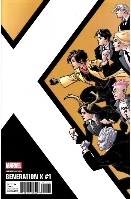 Generation X #1 Kirk Corner Box Variant Cover [Marvel Comic] LARGE