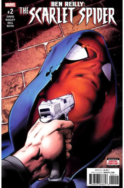 Ben Reilly Scarlet Spider #2 [Marvel Comic] LARGE