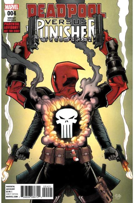 Deadpool vs Punisher #4 Roche Variant Cover [Marvel Comic]_LARGE