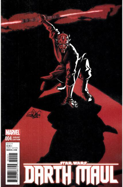 Star Wars Darth Maul #4 Charretier Variant Cover [Marvel Comic] THUMBNAIL