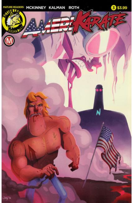 Amerikarate #3 Cover A [Action Lab Comic] THUMBNAIL