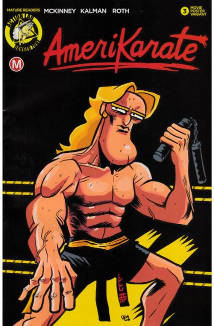 Amerikarate #3 Cover B [Action Lab Comic] THUMBNAIL