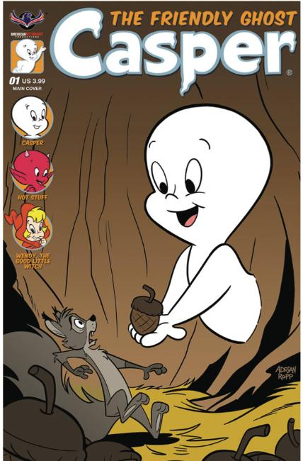 Casper the Friendly Ghost #1 Ropp Cover [American Myth Comic]_THUMBNAIL