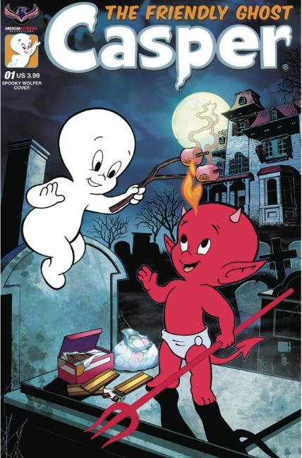 Casper the Friendly Ghost #1 Spooky Wolfer Cover [American Myth Comic] THUMBNAIL