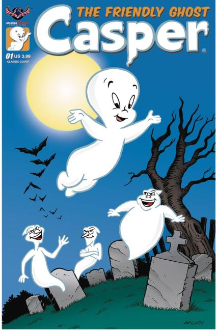 Casper the Friendly Ghost #1 Classic Galvan Cover [American Myth Comic] THUMBNAIL