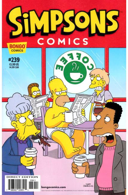 Simpsons Comics #239 [Bongo Comic] THUMBNAIL