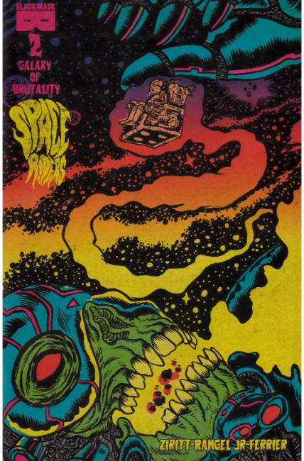 Space Riders Galaxy of Brutality #2 [Black Mask Comic] THUMBNAIL