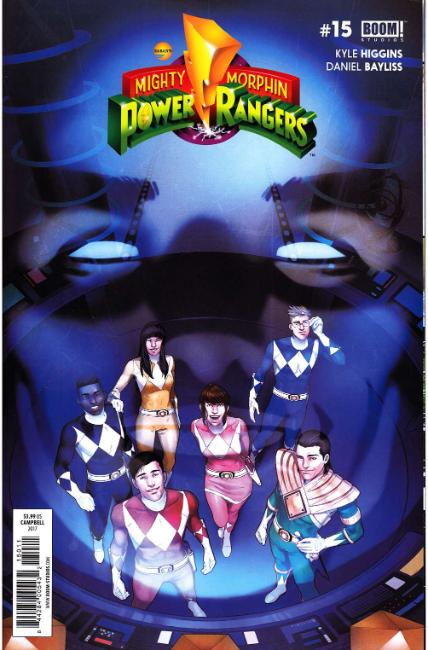 Mighty Morphin Power Rangers #15 [Boom Comic] THUMBNAIL