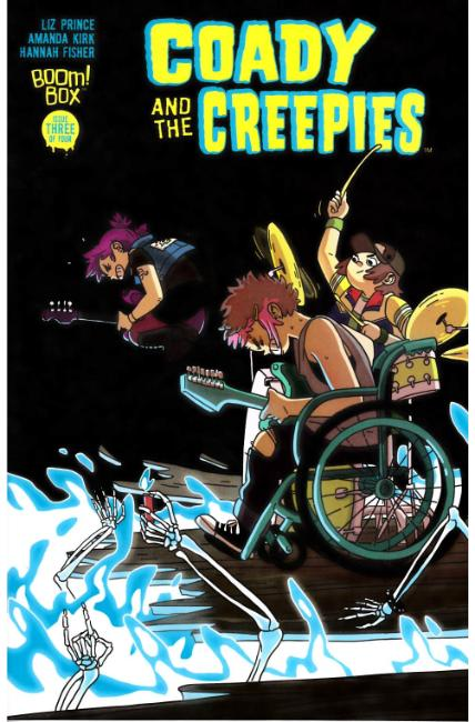 Coady & the Creepies #3 [Boom Comic]