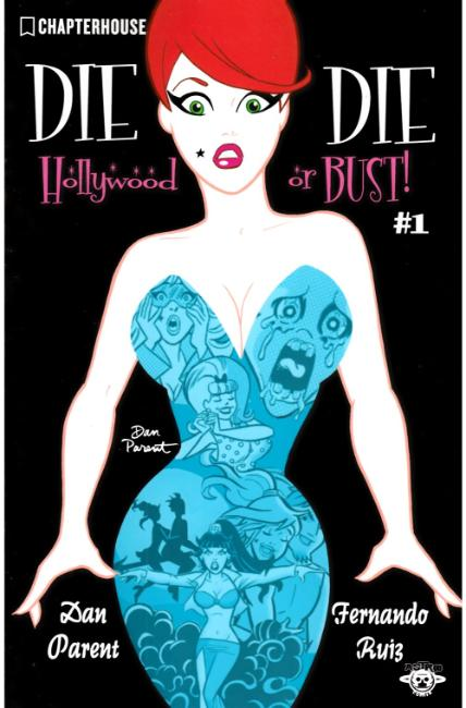 Die Kitty Die Hollywood Or Bust #1 Cover B [Chapterhouse Comic]_LARGE