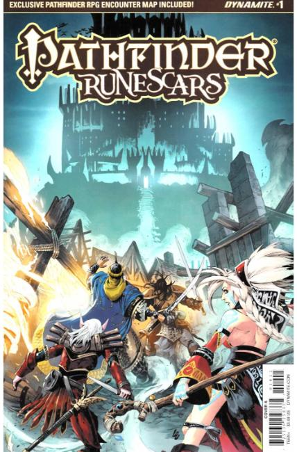Pathfinder Runescars #1 Cover A [Dynamite Comic] THUMBNAIL