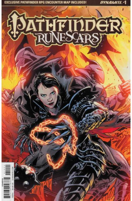 Pathfinder Runescars #1 Cover B [Dynamite Comic] THUMBNAIL