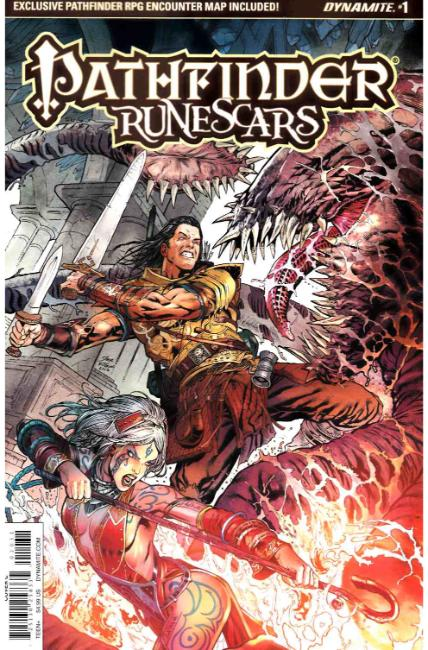 Pathfinder Runescars #1 Cover C [Dynamite Comic] THUMBNAIL