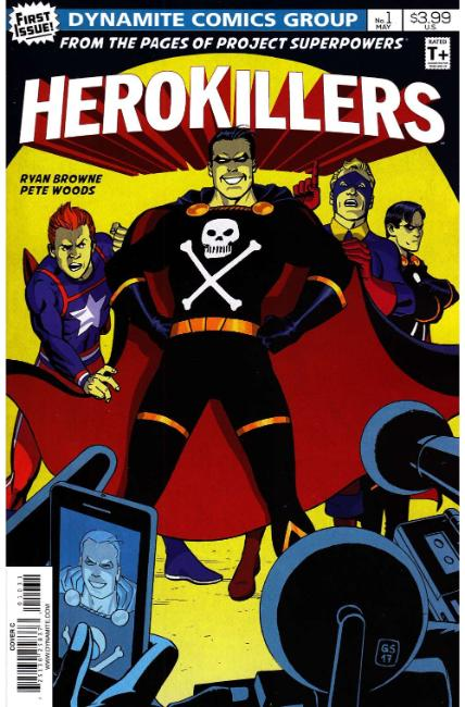 Project Superpowers Hero Killers #1 Cover C [Dynamite Comic] THUMBNAIL