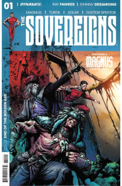 Sovereigns #1 Cover B [Dynamite Comic] THUMBNAIL