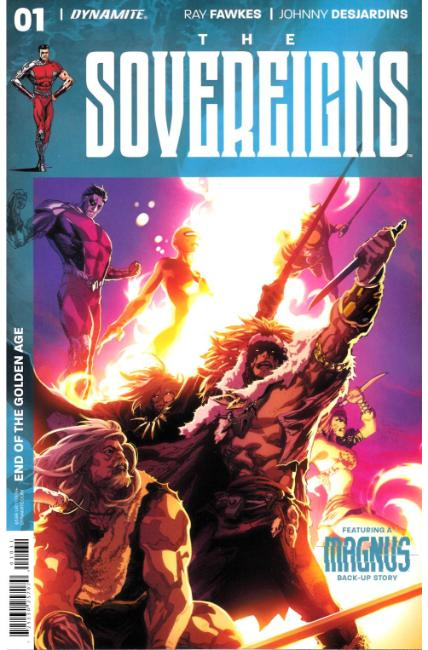 Sovereigns #1 Cover C [Dynamite Comic] THUMBNAIL