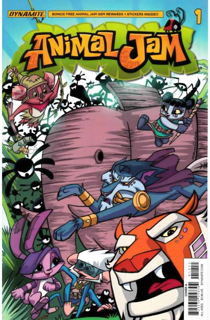 Animal Jam #1 Cover A [Dynamite Comic] THUMBNAIL