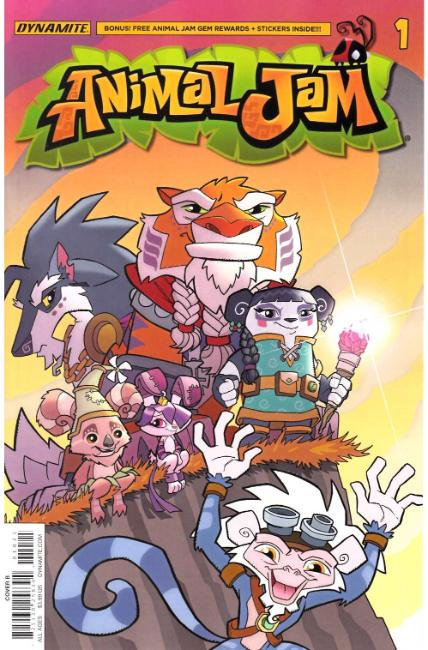 Animal Jam #1 Cover B [Dynamite Comic] THUMBNAIL